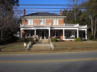 National Register of Historic Places listings in Dooly County, Georgia - Image: Leonard Akin House b