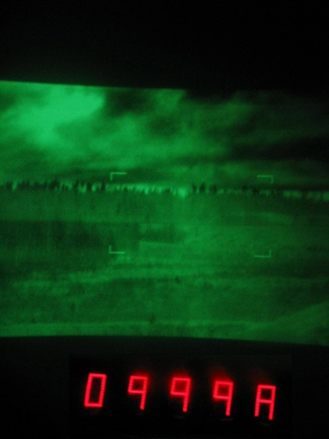 Leopard 2a4 EMES 15 thermal image