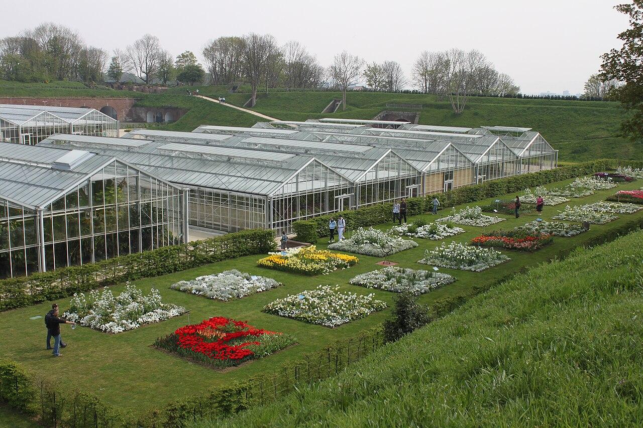 File les serres des jardins suspendus du havre jpg wikimedia commons - Jardin fleurie le havre ...