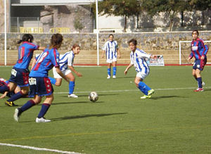Levante UD Femenino - 2006–07 Superliga match against Sporting Huelva