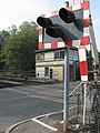 Level Crossing, Lydney Station - geograph.org.uk - 582418.jpg