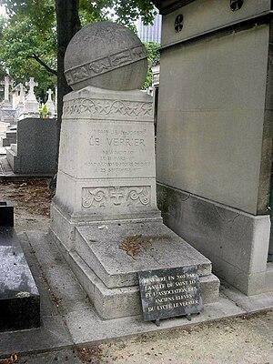 Urbain Le Verrier - The grave of Urbain Le Verrier.