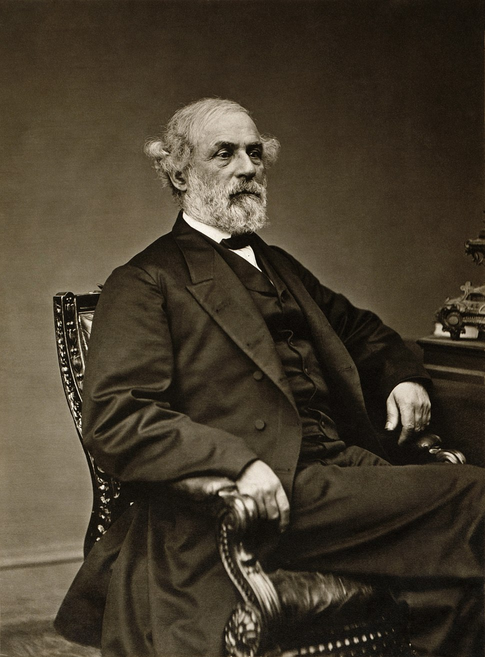 Levin C. Handy - General Robert E. Lee in May 1869