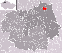 Location of Levín