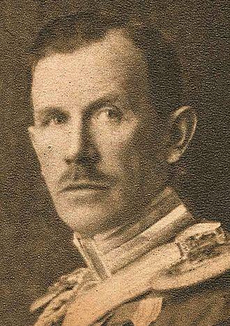 1879 in Sweden - Count Gustaf Lewenhaupt.