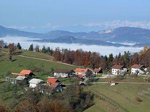 Liberga - The hamlet of Bič in Liberga
