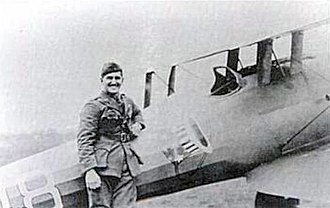 Douglas Campbell (aviator) - Lieutenant Douglas Campbell, 94th Aero Squadron