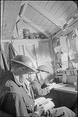 Life in An Air Raid Shelter, South East London, England, 1940 D1624.jpg