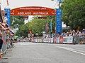 Ligne d'arrivée de la 5e étape du TDU 2010.jpg