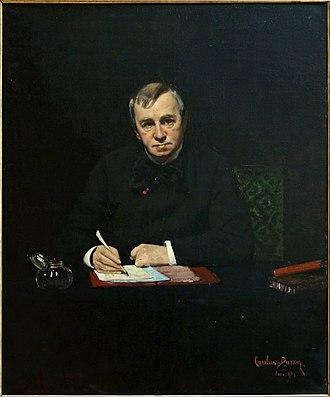 Émile de Girardin - Portrait of Girardin by Carolus-Duran (1876)
