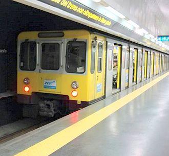 Naples Metro - Image: Linea 1 metro napoli