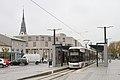 Linz tram4 traun hauptplatz 2016-10-29.jpg
