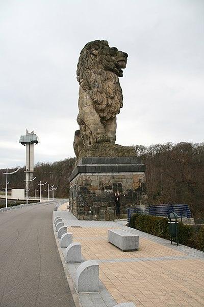 Lion de la Gileppe by Niederkasseler