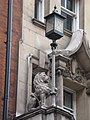Lion holding up a lamppost on the Kenilworth Hotel, Great Russell Street, WC1 - geograph.org.uk - 1289871.jpg