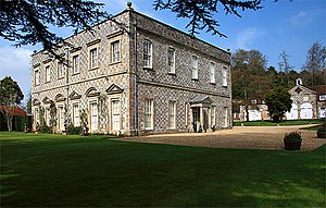 Durnford, Wiltshire - Little Durnford Manor House
