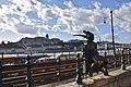 Little Princess Statue, Danube Promenade, Budapest, Hungary (Ank Kumar) 08.jpg