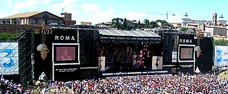 Live 8 - The Live 8 concert in Rome, Italy