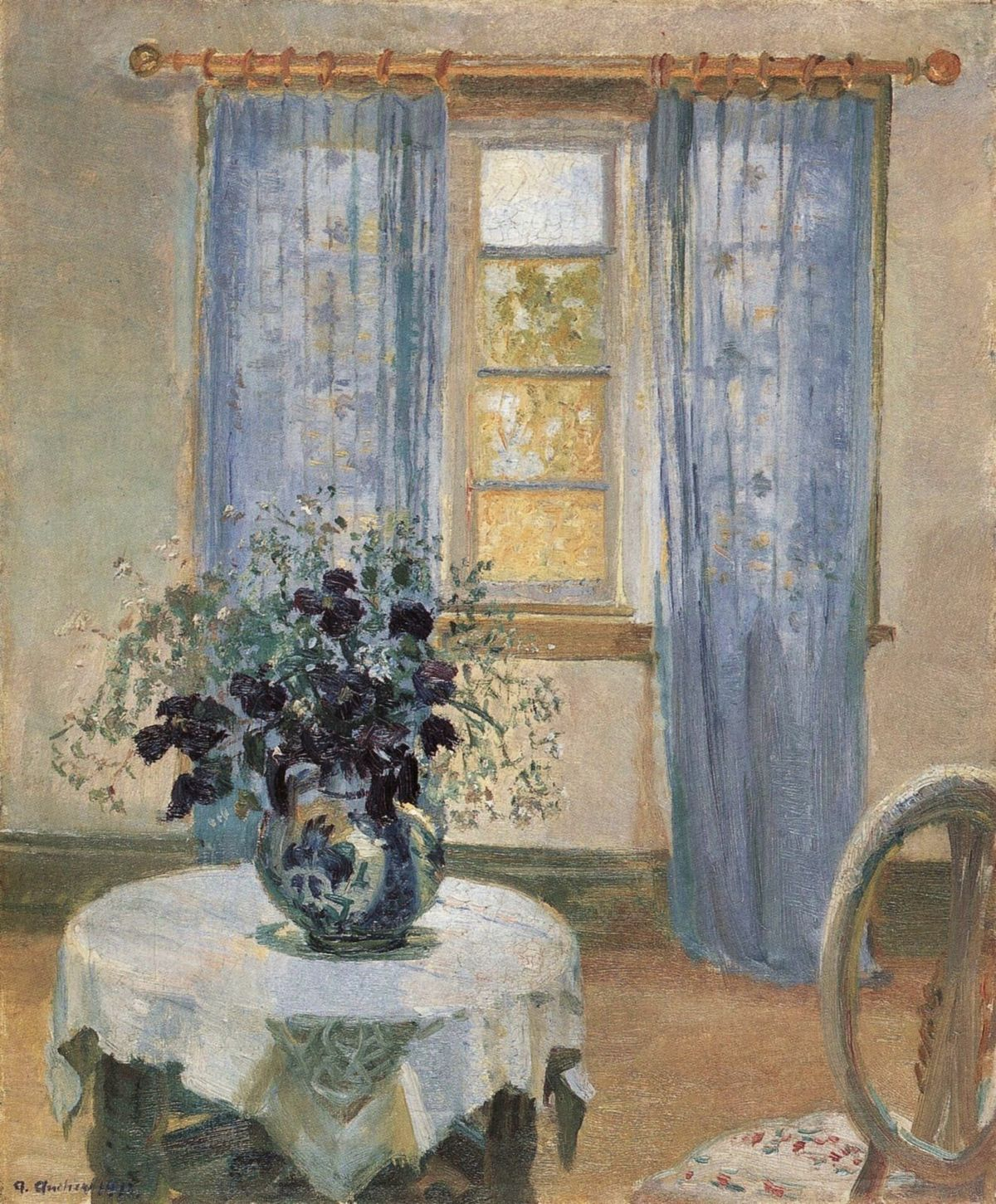 Picture of: Archivo Living Room With Lilac Curtins And Blue Clematis Jpg Wikipedia La Enciclopedia Libre