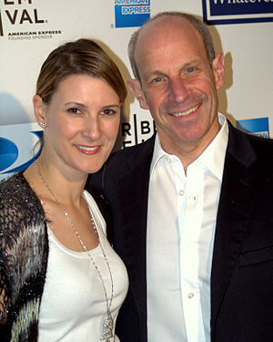 Jonathan Tisch - Lizzie and Jonathan Tisch at the 2009 Tribeca Film Festival.