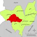 Localització de Benassal respecte de l'Alt Maestrat.png