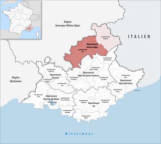 Arrondissement of Gap Arrondissement in Provence-Alpes-Côte dAzur, France