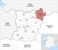 Locator map of Kanton Villaines-la-Juhel 2019.png