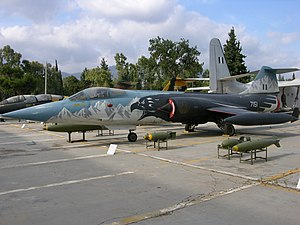 Lockheed F-104G Starfighter Hellenic Air Museum, Tatoi-Dekelia.jpg