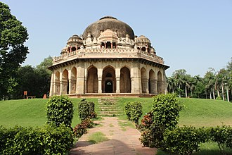 Sayyid dynasty - The tomb of Muhammad Shah at Lodi Gardens, New Delhi.