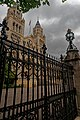 London - Cromwell Road - View ENE along the Front Gate of the Natural History Museum 1881 II.jpg