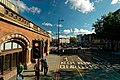 London - St Pancras International Railway Station - Euston Road - View ENE.jpg