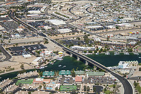 London Bridge, Lake Havasu City - 2011 (Aerial Photo).jpg