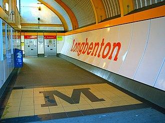 Longbenton Metro station - Longenton Metro station