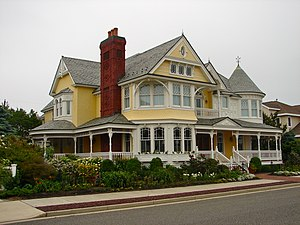 Longport, New Jersey - A house in Longport