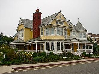 Longport, New Jersey - A house in Longport