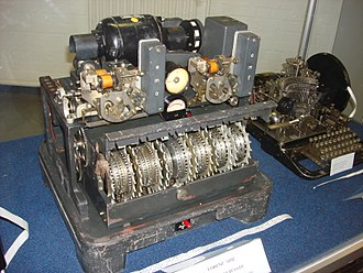Stream cipher - Lorenz SZ cipher machine as used by the German military during World War II