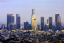 Vista di Los Angeles.