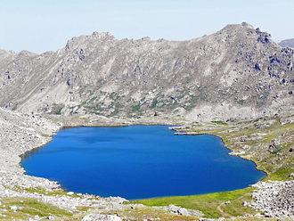 Hunter–Fryingpan Wilderness - Image: Lost Man Lake