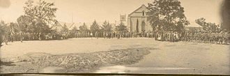 Battle of Groenkloof - The death sentence is pronounced on Commandant Lotter at Middleburg