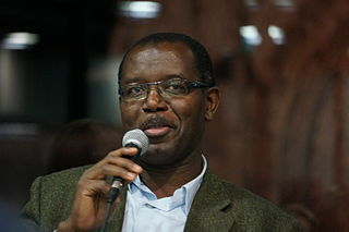Haitian poet and novelist