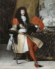 Louis XIV, King of France, after Lefebvre - Les collections du château de Versailles