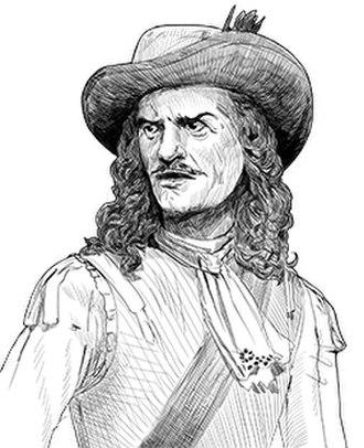 Louis de Buade de Frontenac - Illustration of Frontenac
