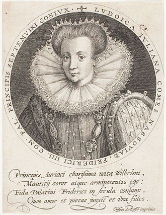 Countess Louise Juliana of Nassau - Louise Juliana of Orange-Nassau