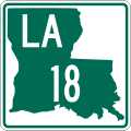 Louisiana 18.svg