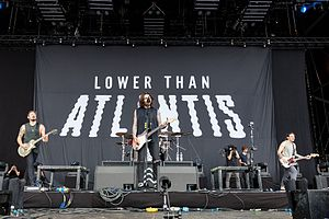 Lower Than Atlantis - Lower Than Atlantis at Rock am Ring, 2017