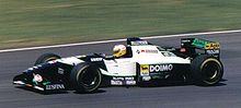 Photo de Luca Badoer sur Minardi M195