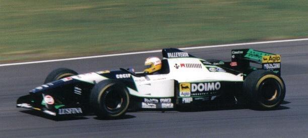 Luca Badoer 1995 Britain