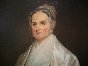 American Equal Rights Association -  Lucretia Mott, president of the AERA