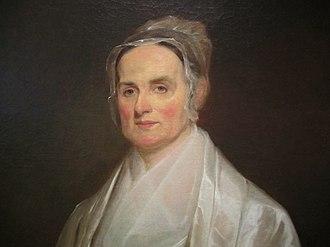 American Equal Rights Association - Lucretia Mott, president of the AERA