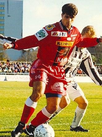 Luiz Antônio - Luiz Antônio with FC Jazz in 1996.