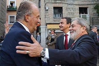Lula - Juan Carlos I